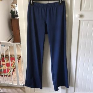 Athletetech exercise pants navy large